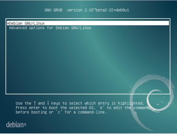 Debian und nicht Raspbian