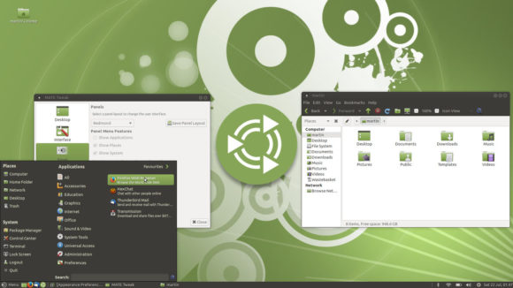 Redmond (Quelle: ubuntu-mate.org)