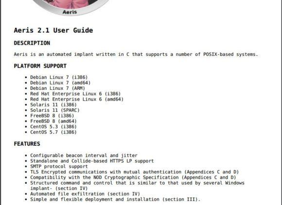 Aeris ist ein Trojaner, der unter anderem Linux im Visier hat