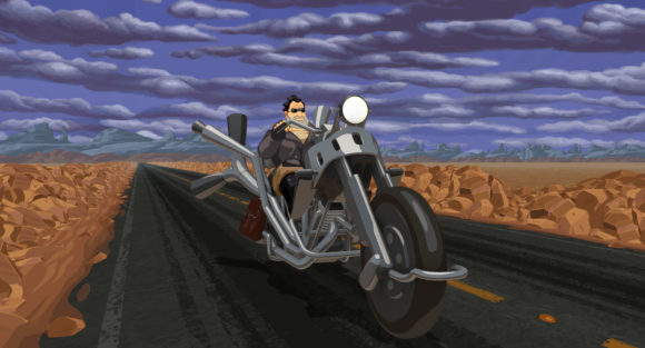 Full Throttle Remastered nun auch für Linux (Quelle: steampowered.com)