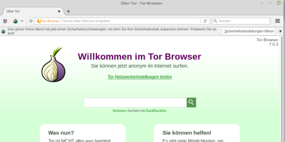 Tor Browser 7.0.3