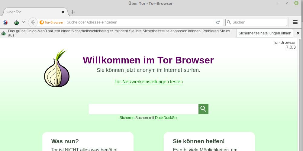 Tor Browser 7.0.3 ist eine Bugfix-Version nur für Linux ...