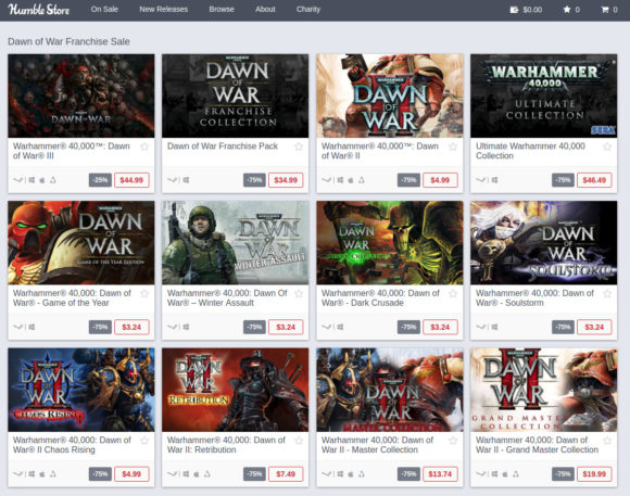 Warhammer 40,000: Dawn of War II und III zum Sonderpreis