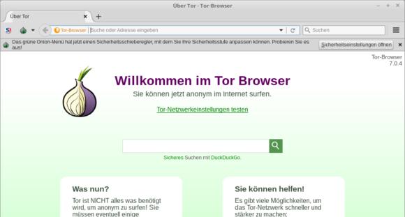 Tor Browser 7.0.4 ist da