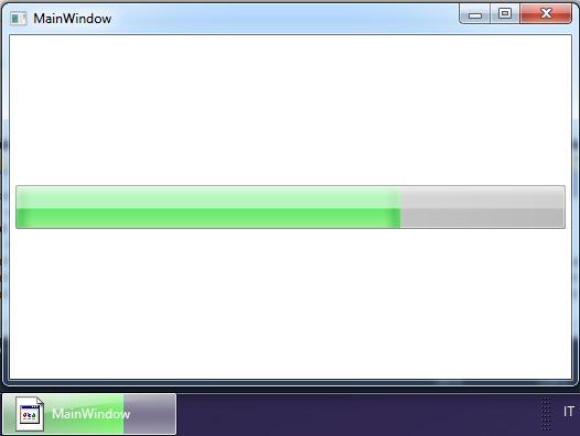 Der Fortschritt bei Windows 7 (Quelle: linuxmint.com)