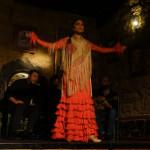Flamenco in Jerez de la Frontera und eine ungewöhnliche Art, den Bauch zu kühlen