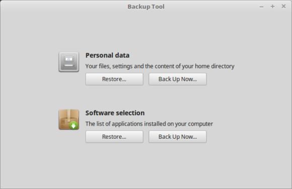 mintBackup: Neues backup Tool oder Datensicherungswerkzeug (Quelle: linuxmint.com)