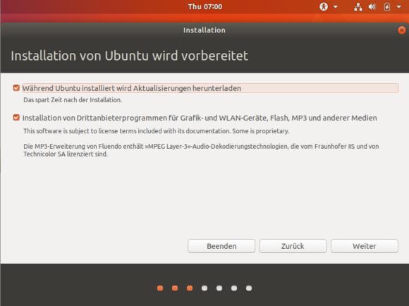 Ubuntu 17.10 Installer