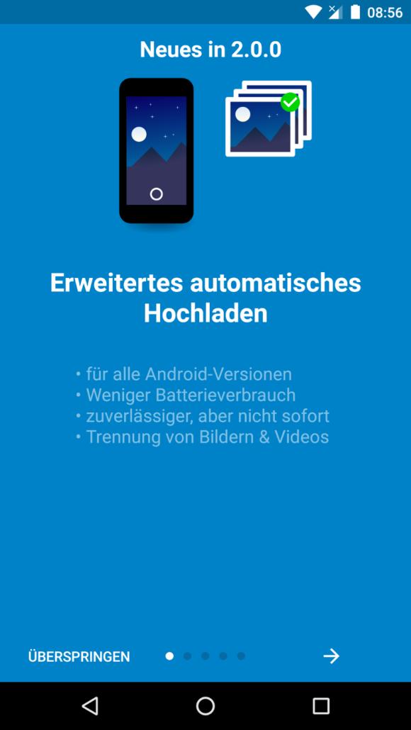 Nextcloud Android App 2.0 mit vielen Verbesserungen