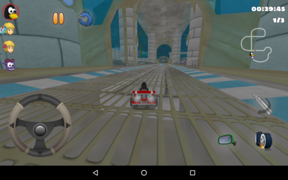 SuperTuxKart unter Android