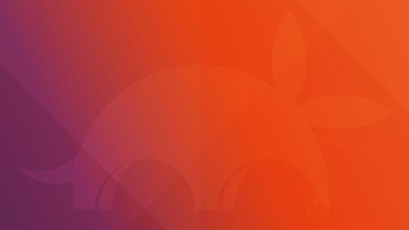 Ubuntu 17.10 Artful Aardvark - Standard-Wallpaper