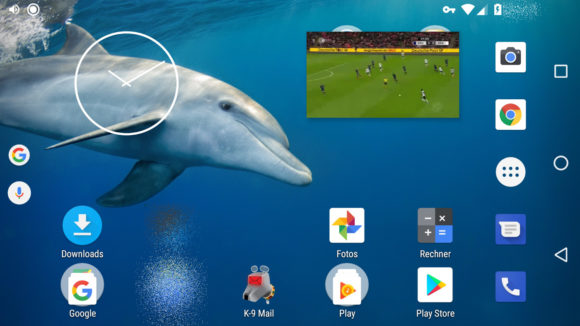 Chrome mit Bild im Bild