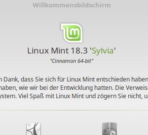 Bis Linux Mint 19 Tara da ist, dauert es noch etwas und ich benutze einfach Sylvia weiter