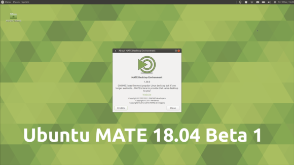 Ubuntu 18.04 Beta - aber nicht für Raspberry Pi (Quelle: ubuntu-mate.org)