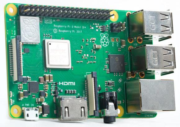 Raspberry Pi 3+ (Quelle: raspberrypi.org)