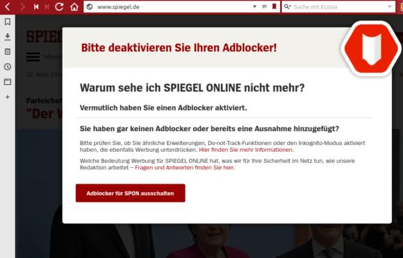 Spiegel Online ist beleidigt