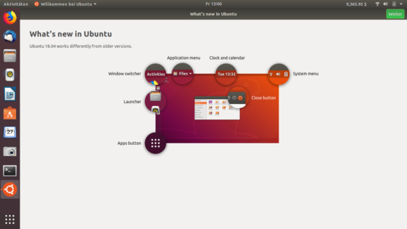 Hallo Nutzer, ich bin Ubuntu 18.04!