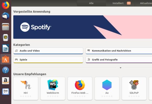 Firefox bei den Empfehlungen? Ist das nicht schon installiert?