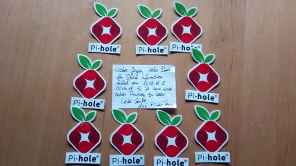 Danke schön, Team von Pi-hole
