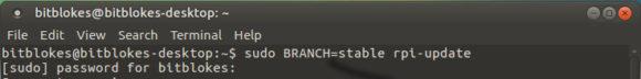 Update von Ubuntu MATE 16.04 für Raspberry Pi