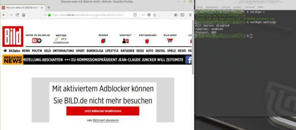 CyberSec soll Dich vor Malware und Werbun schützen
