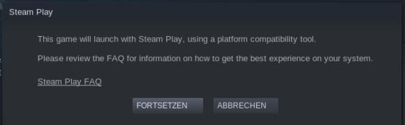 Hier kommt Steam Play ins Spiel