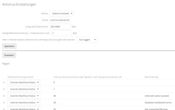 Security für Datei-Upload: Die Antiviren-Einstellungen unter Nextcloud 14