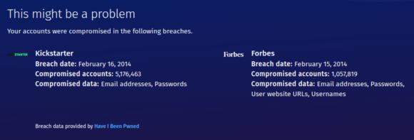 Firefox Monitor - 2014 war kein so gutes Jahr