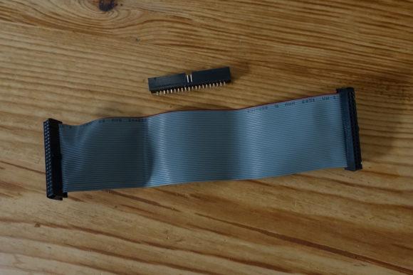 Flachbandkabel mit Adapter