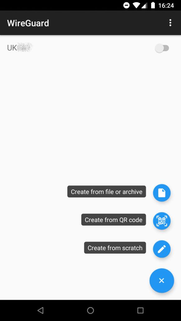 WireGuard-Client für Android