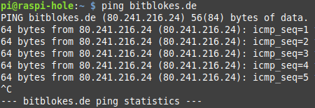 Warum funktioniert mein VPN nicht - Terminal