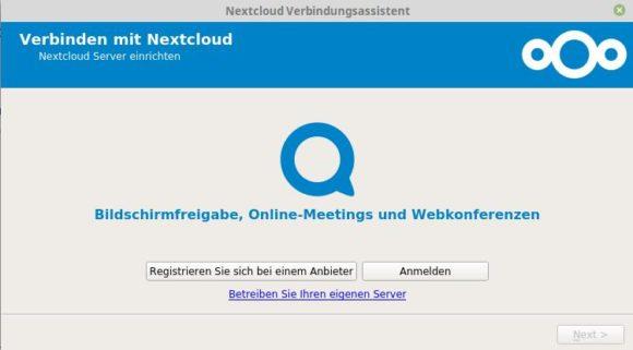 Nextcloud Desktop Client 2.5 wirkt etwas moderner