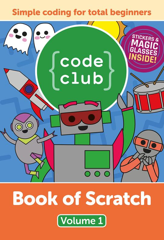 Code Club Book of Scratch - Volume 1 (Quelle: raspberrypi.org)