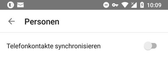 Facebook Messenger Telefonkontakte synchronisieren