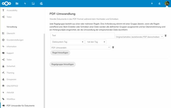 Dateien automatisch in PDF umwandeln