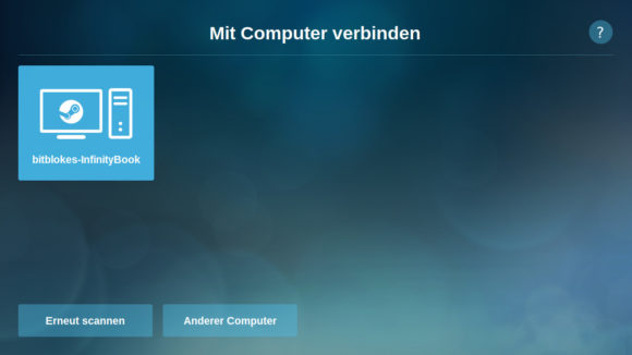 Mit dem Computer verbinden