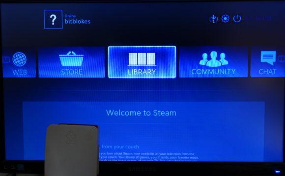 mit Steam via Raspberry Pi verbunden