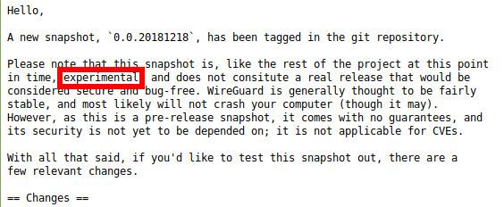 WireGuard hat auch einige Nachteile - Anonymität ist derzeit geschwächt