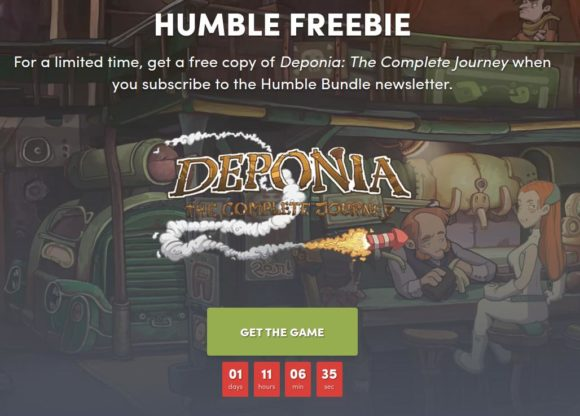 Deponia: The Complete Journey als Humble Freebie