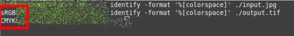 Mit Linux und ImageMagick von sRGB in CMYK umgewandelt