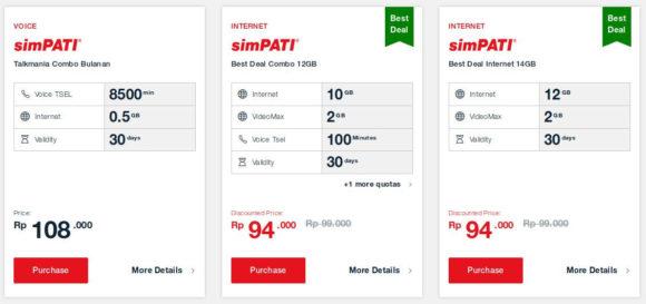 In Indonesien ist mobiles Internet deutlich günstiger als in Deutschland