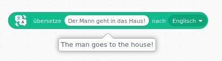 Übersetzungs-Erweiterung von Scratch 3