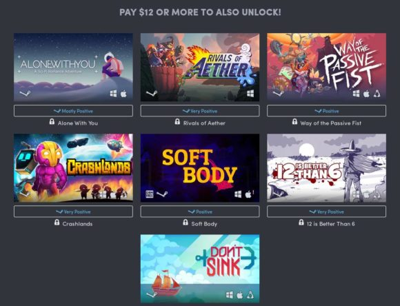 Humble Game Makers Bundle mit interessanten Spielen für Linux