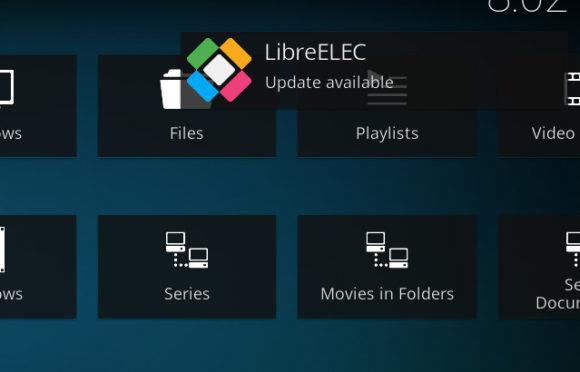 Es ist ein Upgrade auf LibreELEC 9 verfügbar!