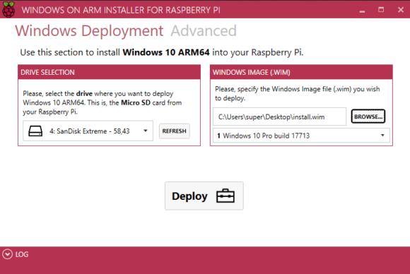 Windows 10 auf dem Raspberry Pi (Quelle: raspberrypi.org)