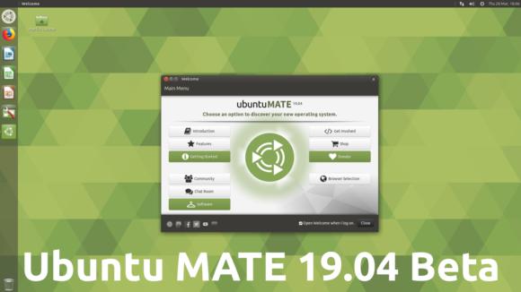 Ubuntu MATE 19.04 Beta (Quelle: ubuntu-mate.org)