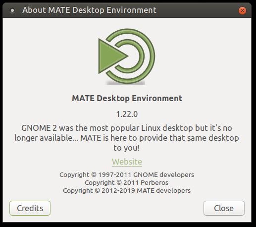 MATE 1.22 ist da (Quelle: mate-desktop.org)