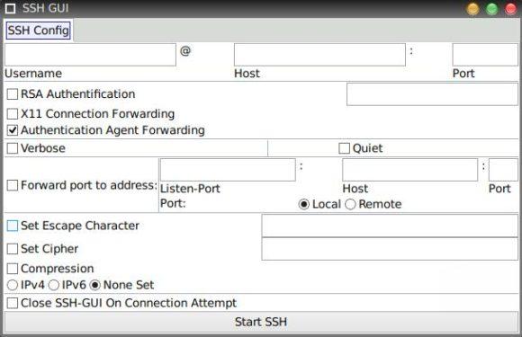 SSH GUI in BionicPup