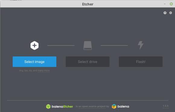 KNOPPIX 8.5 mit Etcher auf USB-Stick schreiben