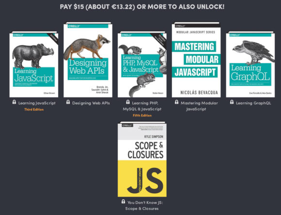 Humble Book Bundle: Web Programming by O'Reilly - das gibt es für 15 US-Dollar
